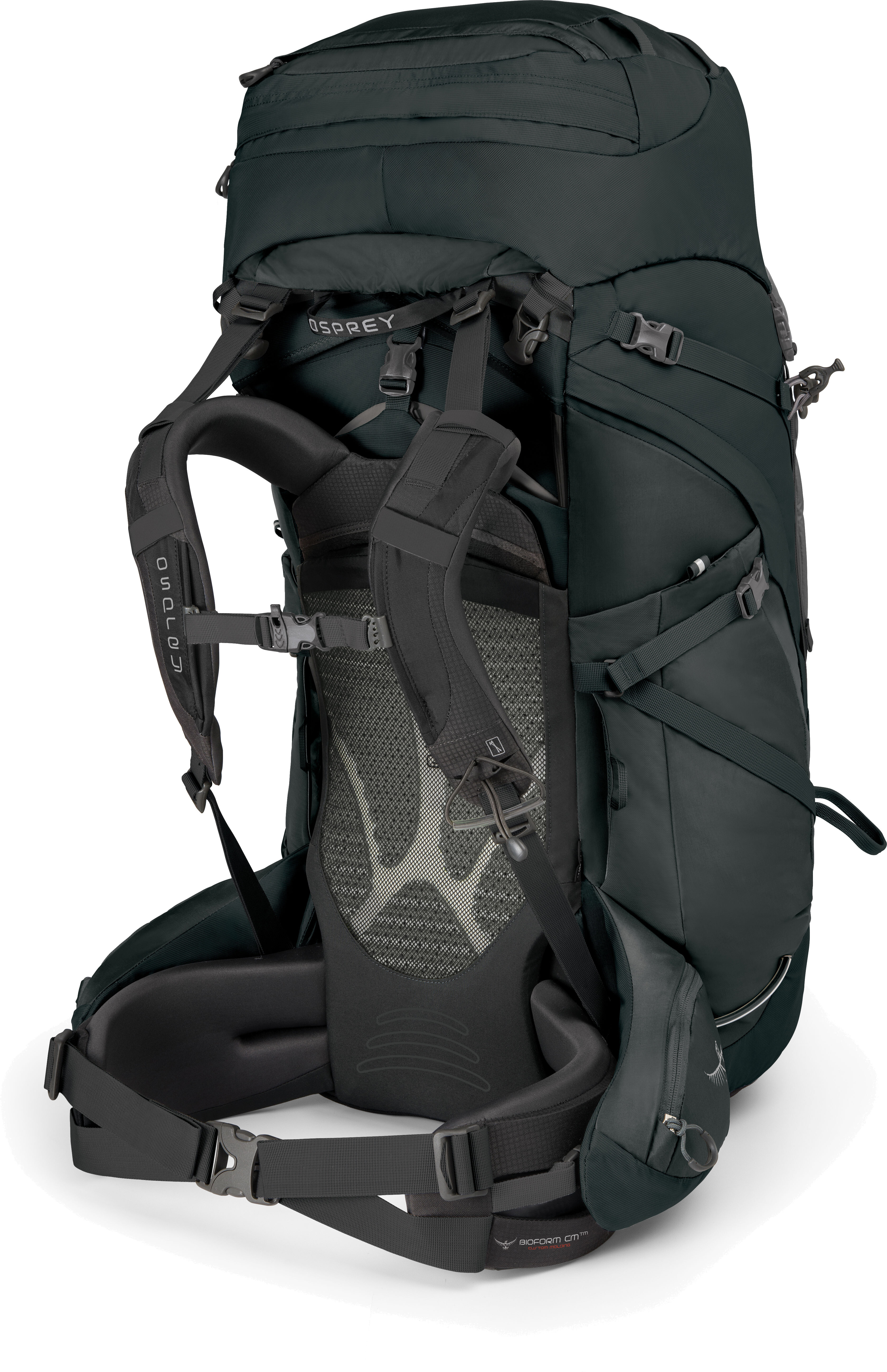 osprey xenith 105 backpack men grey at addnature co uk
